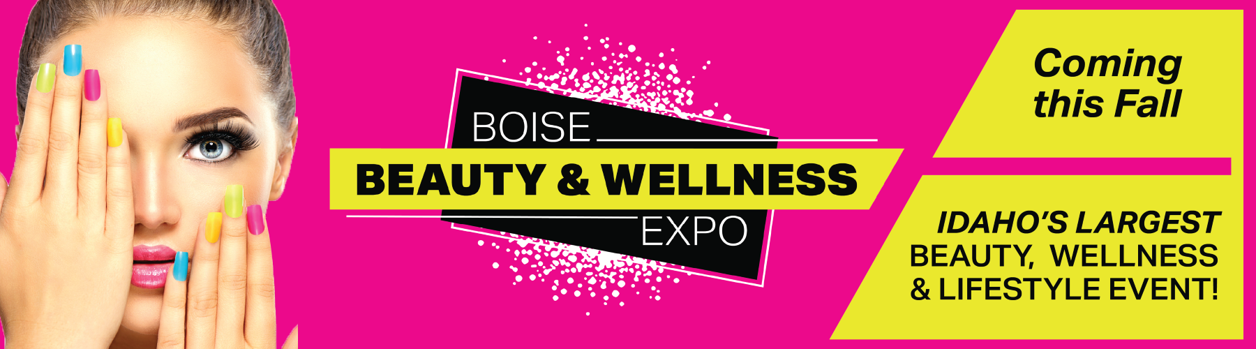 Boise Beauty Expo website banner