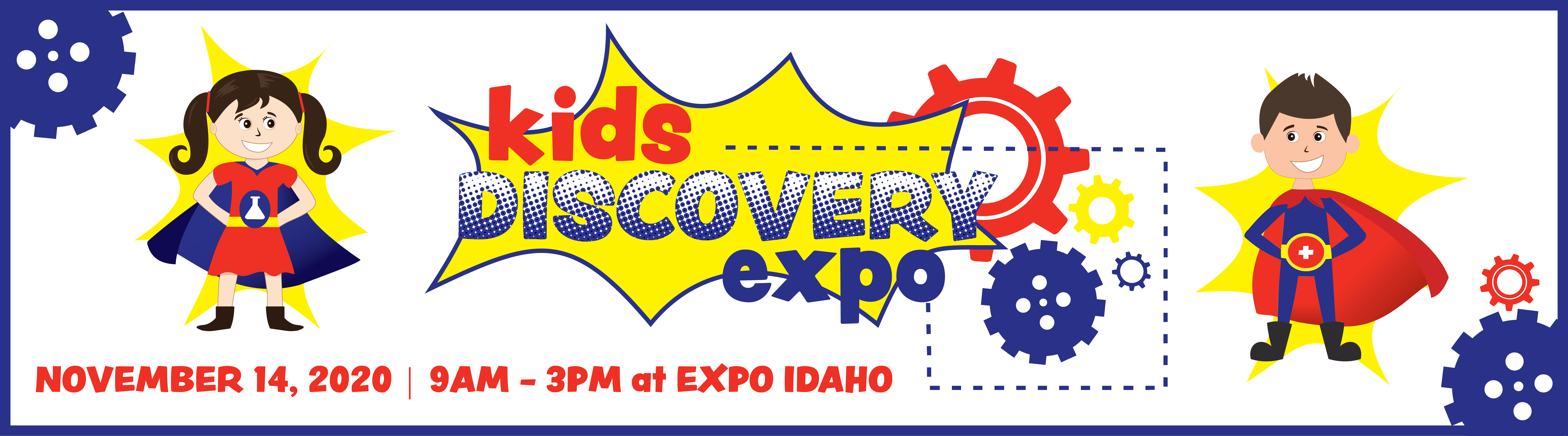 Kids Discovery Expo website slider