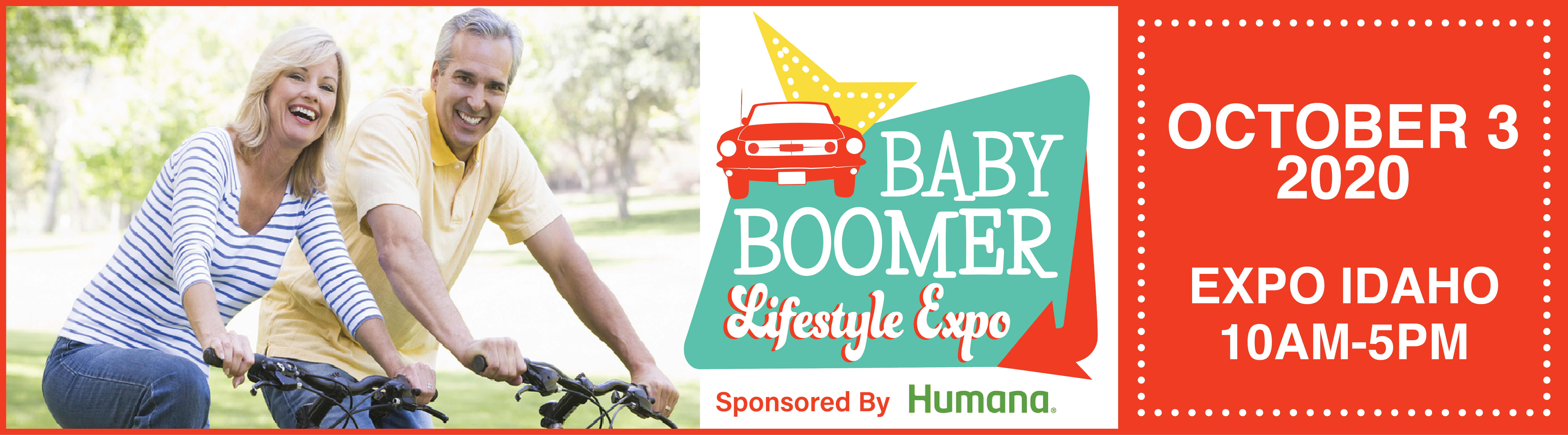 Baby Boomer Lifestyle Expo website slider