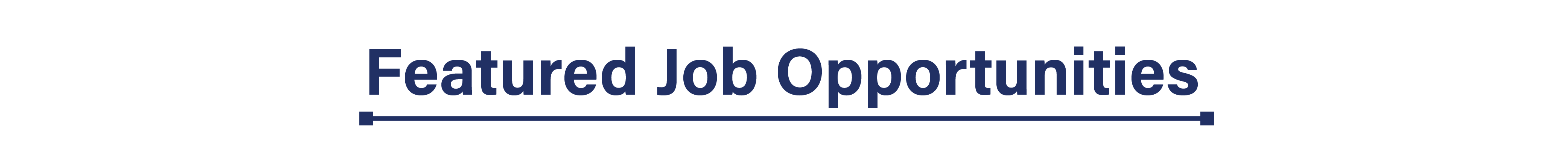 Featured Job Openings