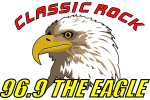 96.9 The Eagle logo