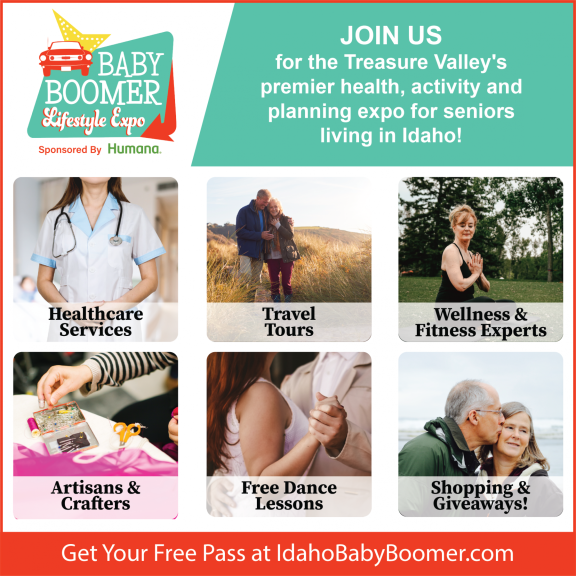Baby Boomer Promo Flyer