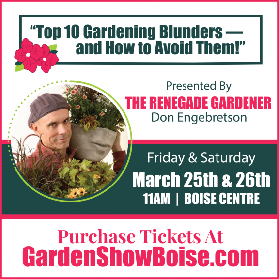 "Featuring the ""Renegade Gardener"""
