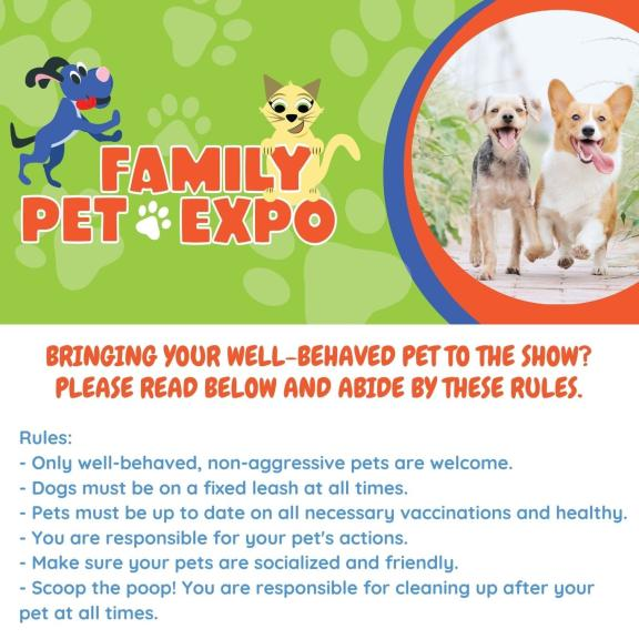 Family Pet Expo Rules